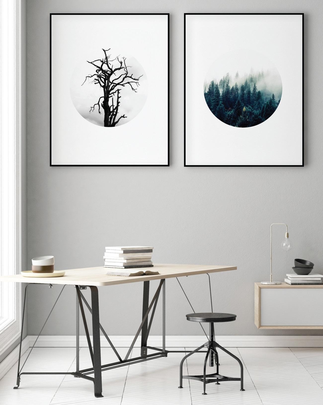 Organic Framed